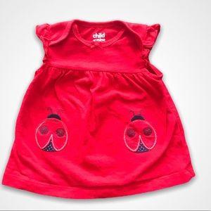 Child Of Mine Ladybug Red Dress